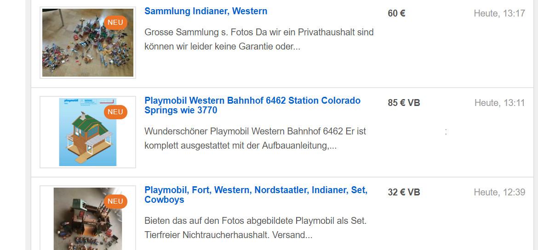autumn shoes new york discount Playmobil bei eBay-Kleinanzeigen - zwischen Rarität und Realität