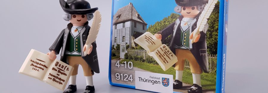 playmobil 9124 - Johann Wolfgang von Goethe in Weimar