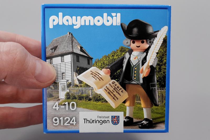 Playmobil 9124 Verpackung Goethe