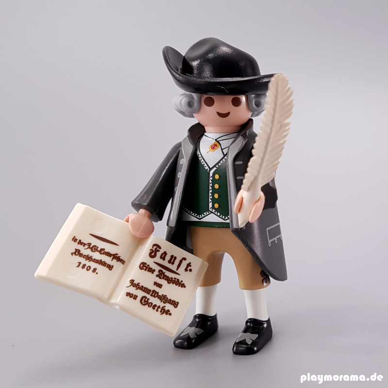 Playmobil Sonderfigur Goethe mit Faust