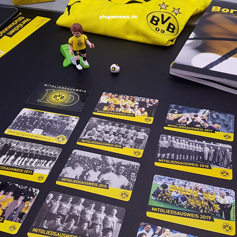 Mitgliedsausweise - Meine langjährige Mitgliedschaft bei Borussia Dortmund