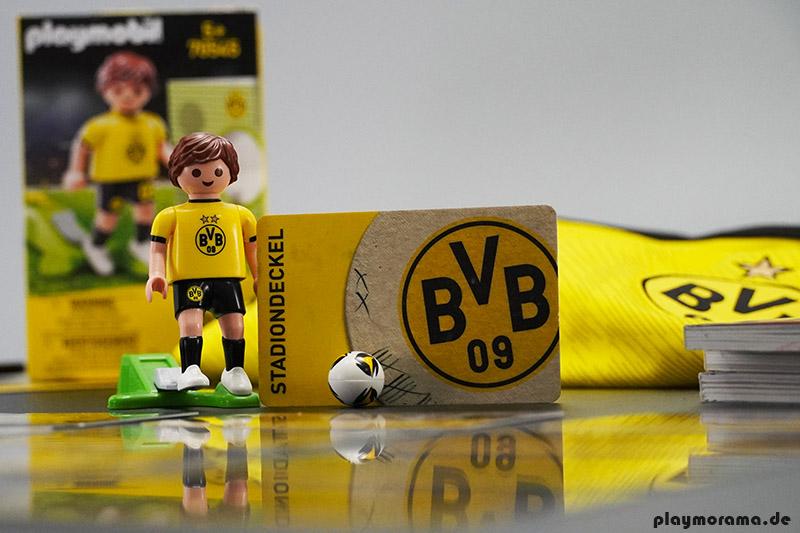 Playmobil Fußballspieler von Borussia Dortmund
