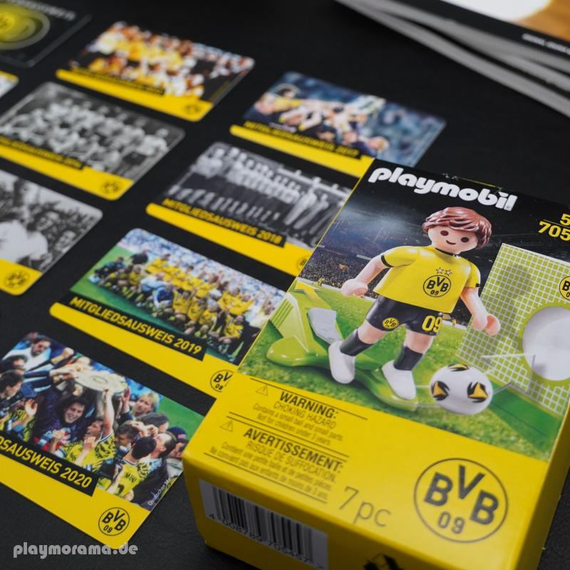 Playmobil Fussballspieler von Borussia Dortmund