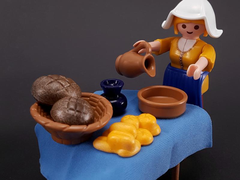 """PLAYMOBIL 5067 - """"Die Milchmagd"""" nach Johannes Vermeer 1660 - Rijksmuseum"""