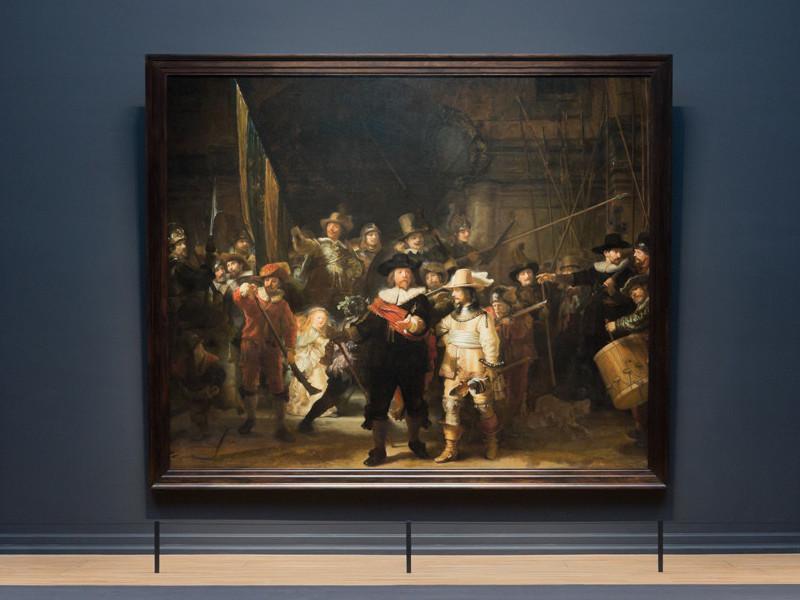 """Mit dem Werk der """"Nachtwache"""" will Rembrandt all seine Kollegen übertreffen"""