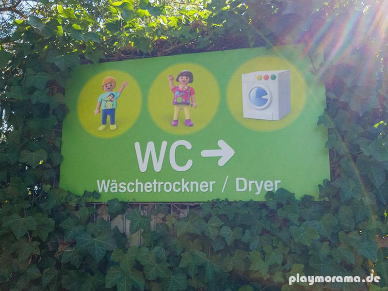 Für alle schiffbrüchigen Wasserratten stehen Wäschetrockner in den Toiletten am Piratensee, am Paddelsee oder direkt am Eingang zur Nutzung zur Verfügung.