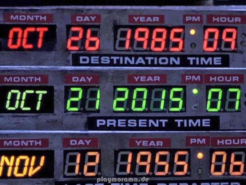 Die Zeitmaschine im DeLorean