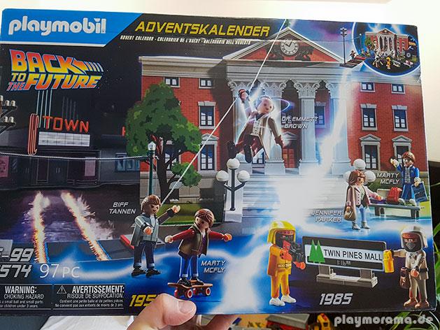 "Mein Exemplar des Playmobil ""Back to the Future"" Adventskalender 70574"